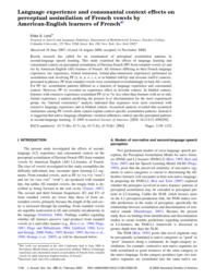 thumnail for Levy, 2009a-Language experience and consonantal context effects on perceptual assimilation.pdf