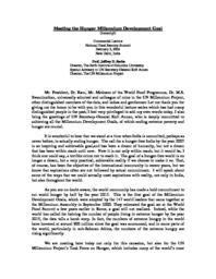 thumnail for MeetingtheHungerMillenniumDevelopmentGoal-NewDelhiFeb52004.pdf