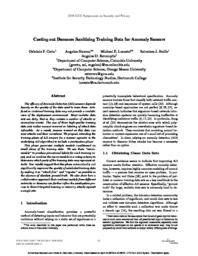 thumnail for SanitizingTrainingData.pdf