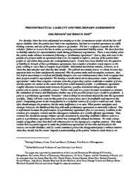 thumnail for Precontractual_Liability_and_Preliminary_Agreements_-final_10-9-06.pdf