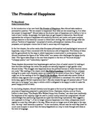 thumnail for The_Promise_of_Happinessreview.pdf