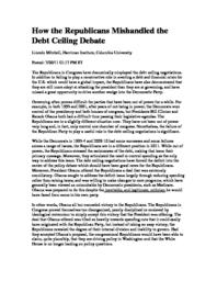 thumnail for How_the_Republicans_Mishandled_the_Debt_Ceiling.pdf