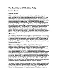 thumnail for The_Two_Futures_of_U.S._China_Policy.pdf
