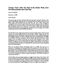 thumnail for Twenty_Years_After_the_Berlin_Wall.pdf