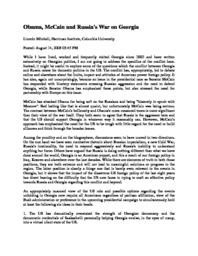 thumnail for Obama__McCain_and_Russia_s_War_on_Georgia.pdf