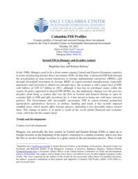 thumnail for Profiles_Hungary_IFDI_2012.pdf