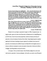 thumnail for Nietzsche_s_Prefiguration_of_Postmodern_American_Philosophy.pdf