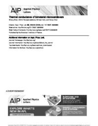 thumnail for ApplPhysLett_92_063509thermal_conductance_of_bimaterial_microcantilevers.pdf