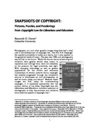 thumnail for ALA_Book_essay_of_photographs__Kenneth_D_Crews_082813_.pdf