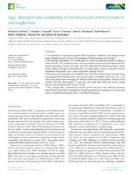 thumnail for RedMapleNonStructuralCarbonCarboneNewPhytologist2013.pdf