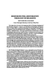 thumnail for MEV_-_Resources_for_a_Restoration_Theology_of_Religions__Final.pdf