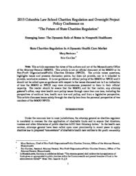 thumnail for Beckman_and_Carriker_-State_Charities_Regulation_In_A_Dynamic_Health_Care_Market.pdf
