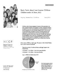 thumnail for Basic_Facts__Children_under_18__2012.pdf