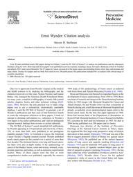 thumnail for Stellman_2006_WynderCitations_PrevMed.pdf