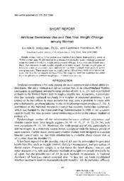 thumnail for Stellman_1986_ArtifSweetAndWt_PrevMed.pdf