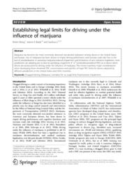 thumnail for Legal_Limit_for_Driving_under_the_Influence_of_Marijuana.pdf