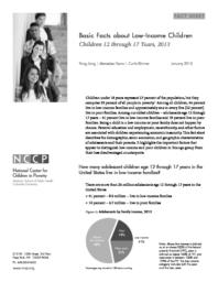 thumnail for Basic_Facts_about_Low-Income_Children__Children_12-17_Years__2013.pdf