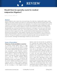 thumnail for cmr_Should_there_be_specialty_courts.pdf