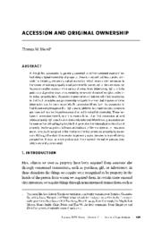 thumnail for Accession_and_Original_Ownership_Merrill.pdf