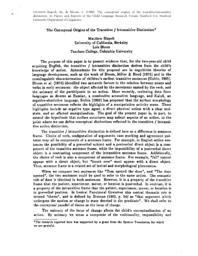 thumnail for Origins of the Transitive Intransitive Distinction_Risp-Blm.pdf
