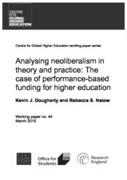 thumnail for Dougherty & Natow - Analyzing Neoliberalism - Working paper 44 2019.pdf