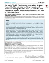 Unprotected anal sex hiv