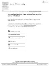 thumnail for Stressful_and_positive_experiences_of_women_who_served_in_Vietnam.pdf