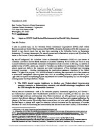 thumnail for Columbia-Center-on-Sustainable-Investment-OPIC-ESPS-comments.pdf