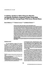 thumnail for A_Lifetime_Alcohol_or_Other_Drug_Use_Disorder_and_Specific_Psychiatric_Symptoms_Predict_Sexual_Risk_for_HIV_Infection_Among_People_With_Severe_Mental_Illness.pdf