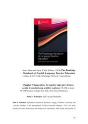 thumnail for The Routledge Handbook of English Language Teacher Education.pdf