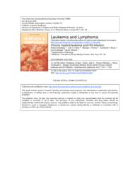 thumnail for Schlaberg R et al HIV Leu Lymph 2008.pdf