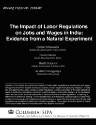 thumnail for 2018-02-impact_of_labor_regulations_on_job_and_wages_in_india.pdf