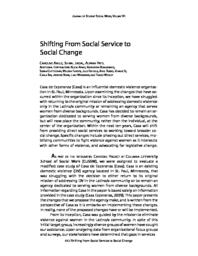 thumnail for Shifting From Social Service to Social Change.pdf
