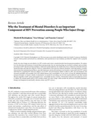thumnail for Why the treatment of mental disorders is an important component of HIV prevention among people who inject drugs.pdf
