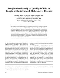 thumnail for Longitudinal Study of Quality of Life in Peopl.pdf