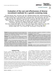 thumnail for Klitzman_Evaluation of the cost and effectiveness of diverse.pdf
