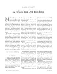 thumnail for A fifteen-year-old translator.pdf