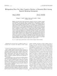 thumnail for Bilingualism Does Not Alter Cognitive Decline.pdf