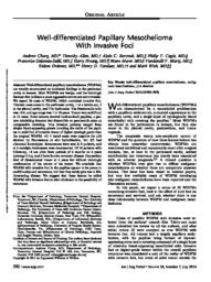 thumnail for Churg A et al Well_differentiated_Papillar Am J surg Path 2014.pdf