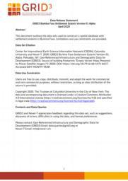 thumnail for Data Release Statement GRID3 BFA Settlement Extents V1 Alpha.pdf