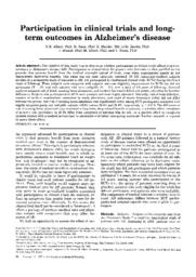 thumnail for Albert-1997-Participation in clinical trials a.pdf