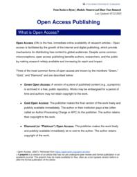 thumnail for Open Access Publishing.pdf