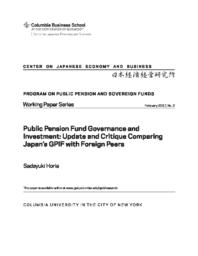 thumnail for WP 2.Sadayuki Horie.Public Pension Fund Governance and investment.pdf