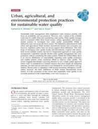 thumnail for Alfredo_et_al_2017_Urban, Agricultural, and Environmental Protection Practices for Sustainable Water Quality.pdf