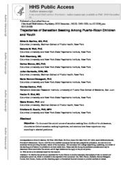 thumnail for Martins_Trajectories of Sensation Seeking Among Puerto Rican Children and Youth..pdf