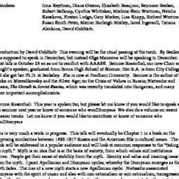 Minutes, 2005-10-07. Slavic...