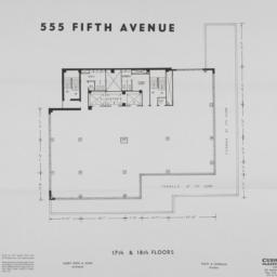 555 Fifth Avenue, 17th & 18...