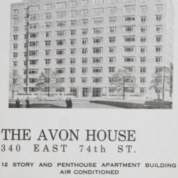 The     Avon House, 340 E. ...