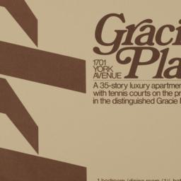 Gracie Plaza, 1701 York Ave...