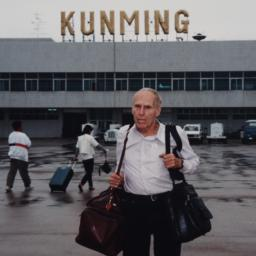Kunming Airport With Barney...